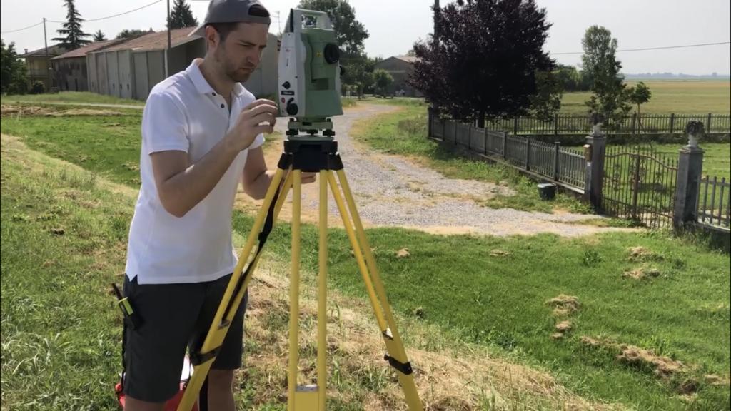 Geometra Massimo Caselli rilievo topografo