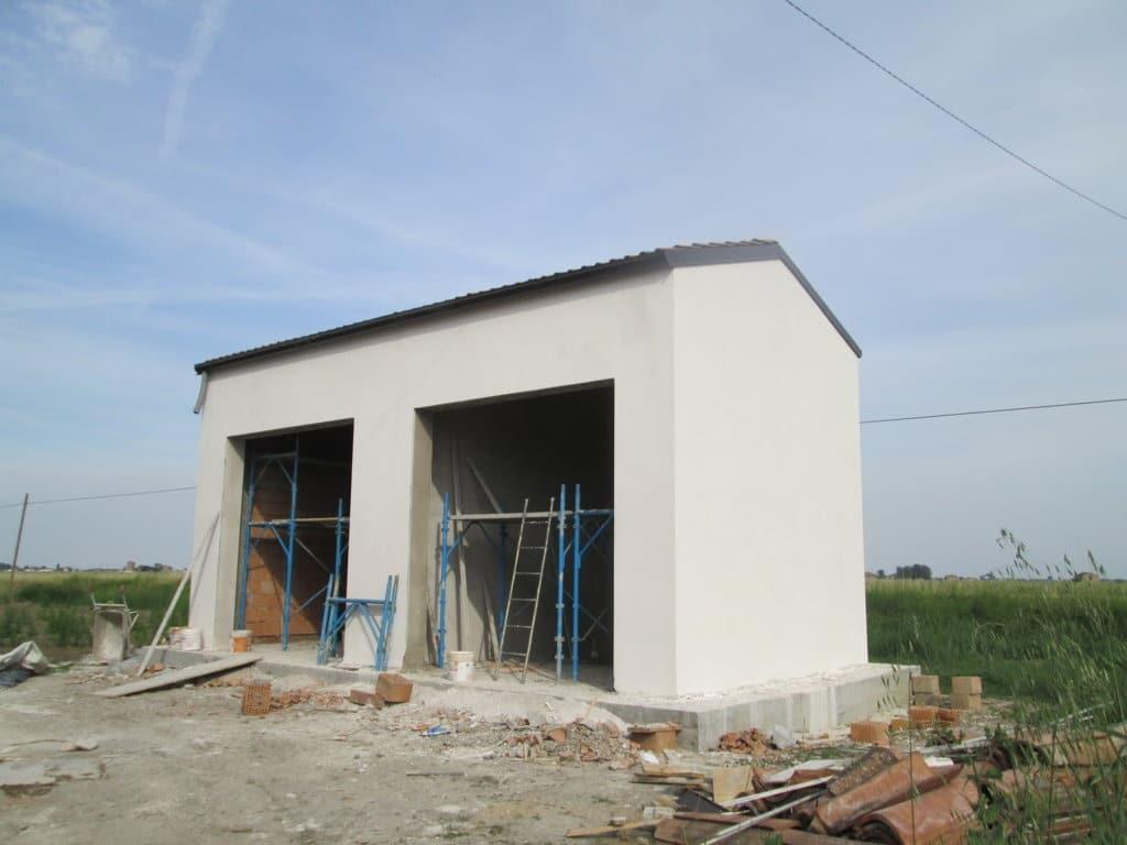 Ricostruzione di garage